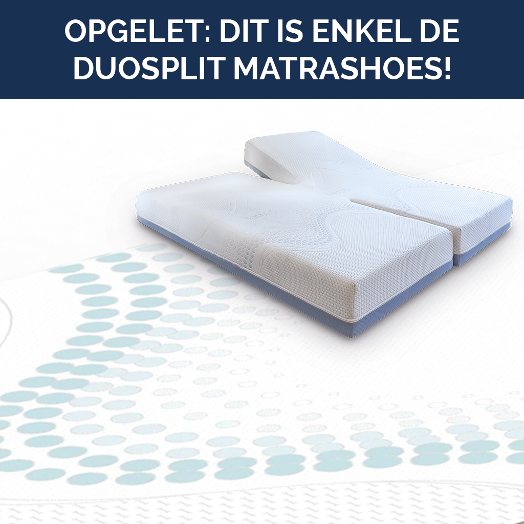 Matrashoes matras Perfection (dubbele split)